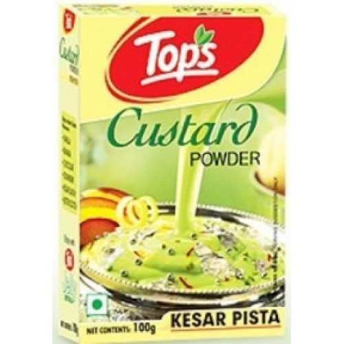 Tops Custard Powder - Kesar Pista