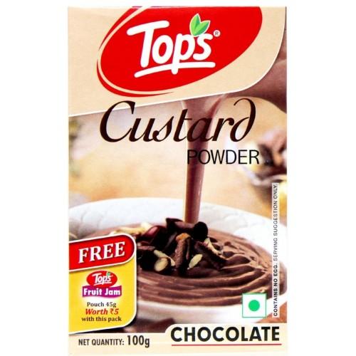 Tops Custard Powder - Chocolate