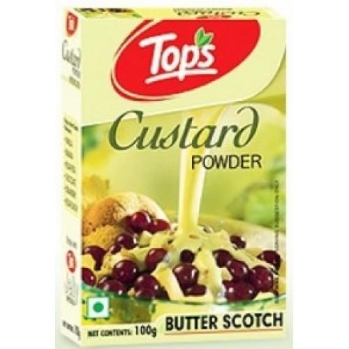 Tops Custard Powder - Butter Scotch