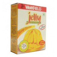 Weikfield Jelly Crystals - Mango , 90 Gm Pack