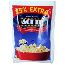 Popcorn - Classic Salted , 90 Gm Pouch