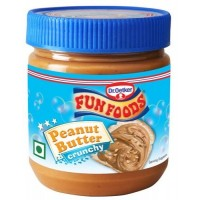 Funfoods Peanut Butter - Crunchy , 340GM