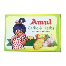 Amul Buttery Spread - Garlic & Herbs , 100 GM