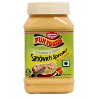 Funfoods Sandwich Spread - Cucumber & Carrot , 300 GM
