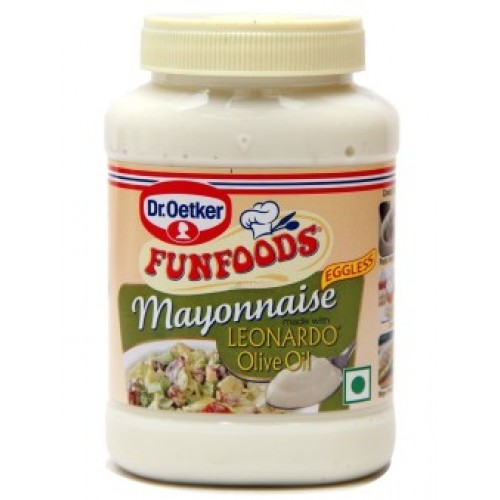Funfoods Mayonnaise - Olive Oil , 275GM