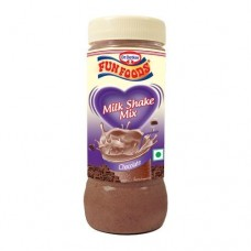 Funfoods Milk Shake Mix - Chocolate , 200GM