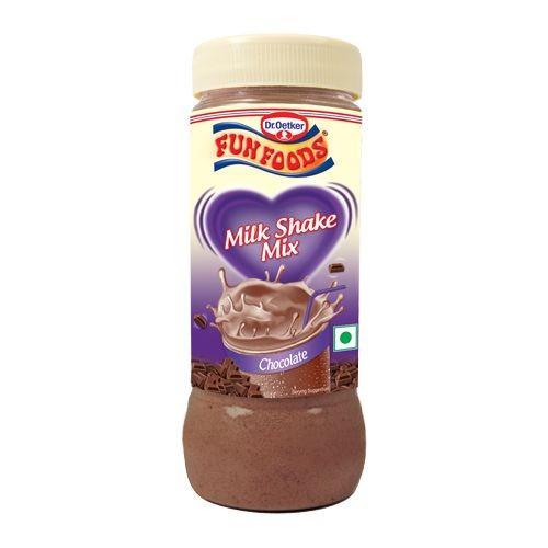 Funfoods Milk Shake Mix - Chocolate , 200GM