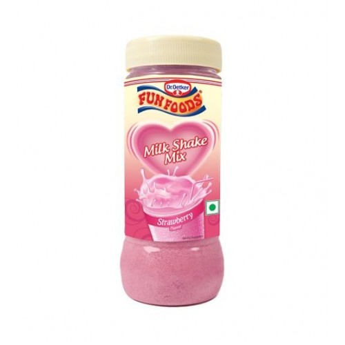 Funfoods Milk Shake Mix - Strawberry , 200GM