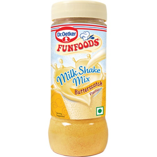 Funfoods Milk Shake Mix - Butter Scotch , 200GM