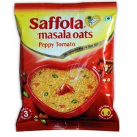 Saffola Masala Oats - Peppy Tomato , 40 GM Pouch