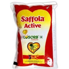 Saffola Oil - Active , 1 Lt Pouch
