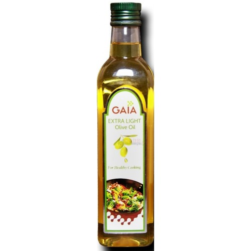 Gaia Olive Oil - Extra Light (For Healthy Cooking) (Buy 1 ltr Get 1 ltr Free  )