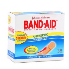 Johnson & Johnson Band Aid - Antiseptic Washproof