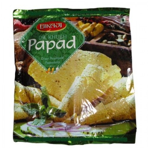 Bikaji Papad - Dil Khush , 400 Gm Pack