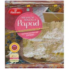Haldiram Papad - Medium Masala , 400 Gm Pack