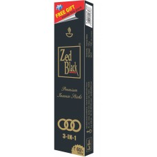 Zed Black Premium Incense Sticks - 3 IN 1 , 1 Packet