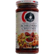Chings Chutney - Schezwan , 250 Gm Jar