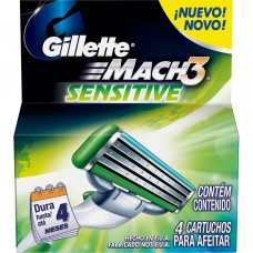 Gillette Cartridge - Mach 3 Sensitive