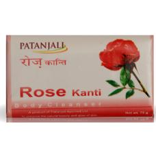 Patanjali Body Soap - Rose, 75 GM