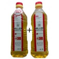 Miller Canola Oil  1 Ltr - Buy 1 get 1 Free