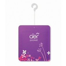 Godrej Aer Pocket Bathroom Fragrance Voilet , 1PC