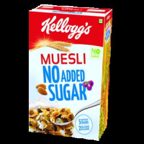 Kelloggs Muesli - No Added Sugar , 500 GM