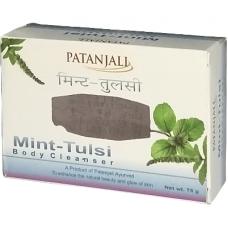 Patanjali Body Soap - Mint Tulsi, 75 GM