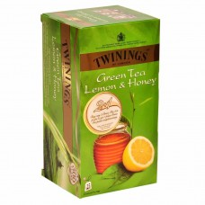 Twinings Green Tea - Lemon & Honey , 25 Tea Bags