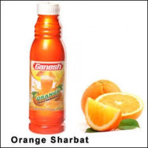 Ganesh Orange Sharbat , 1 Ltr