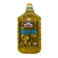 Miller Canola Oil 5 Ltr Can