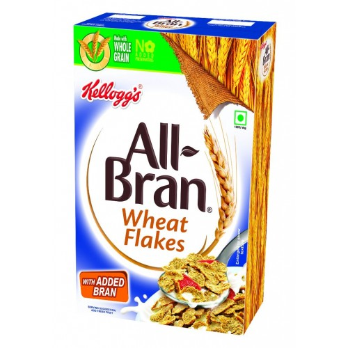 Kelloggs All Bran Wheat Flakes, 425GM